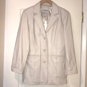 Medium Pamela McCoy Leather Blazer